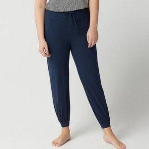 AnyBody Petite Cozy Knit Jogger Pants 901